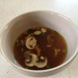 Japanese Steakhouse Soup