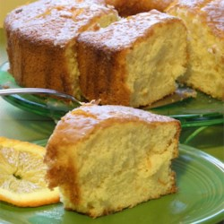 Orange Fluff Cake Recipe - A wonderful fluffy orange chiffon cake that tastes great with the orange glaze recipe shown or chocolate or cream cheese icing.