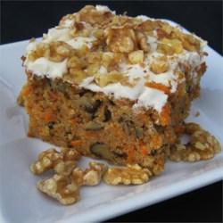 Manella's Carrot Cake