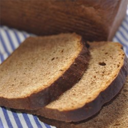 Totally Rye Bread Recipe - This dense bread is unadulterated by other flours, making it an intensely rye-flavored bread.  It 's also molasses-sweetened and punctuated with caraway seeds.