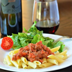 Valerie's Bolognese Sauce Recipe - This traditional-style meat sauce simmers on the stove until thick and flavorful. Ladle it over pasta, or use in a million different recipes.
