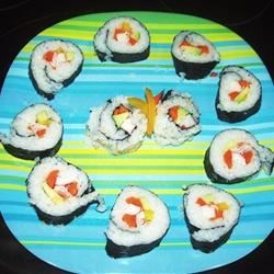 California Rolls with Perfect Sushi Rice