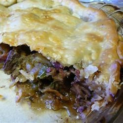 Steak and Irish Stout Pie ~ Recipe Group Selection:  09, March 2013