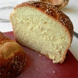 Paska Bread - Sliced