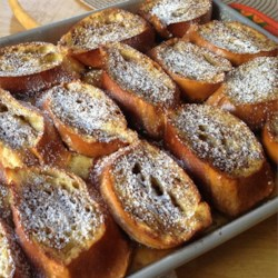 Brunch Baked French Toast Recipe - Bake this version of French toast for your next brunch.