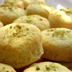 Mini Parmesan Scones Recipe - Try these savory scones as an appetizer alternative.