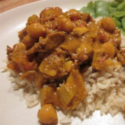 Chickpea & Chicken Curry