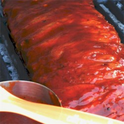 Best Rib Sauce Recipe - Here's a great sauce for your BBQed ribs! Just keep basting this on those babies, and you'll be wishing you could eat ribs every night!