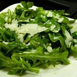 Wild Rocket (Arugula) and Parmesan Salad
