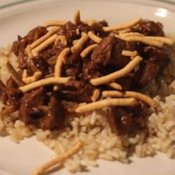 Mom's Beef Chop Suey
