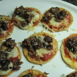 Sausage Pizza Appetizers
