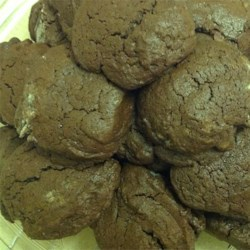 Black Gold Recipe - This is the chocolatiest chocolate cookie ever made. If chocolate is your life, you can't live without these cookies!