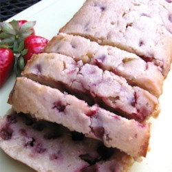 Amazing Strawberry Pound Cake