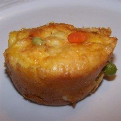 Chicken Pot Muffins