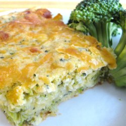 Broccoli Cornbread with Cheese Recipe - Even the pickiest eaters will learn to love broccoli, especially when it's surrounded by cornbread and plenty of cheese.