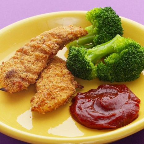 Almond-Crusted Chicken Fingers