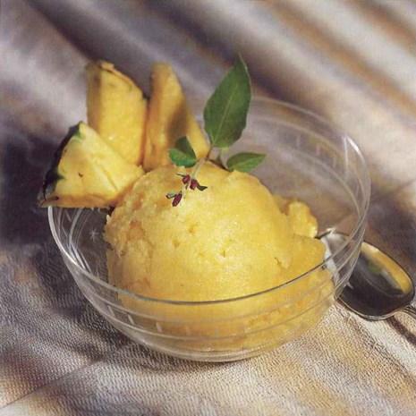 Pineapple-Coconut Sorbet