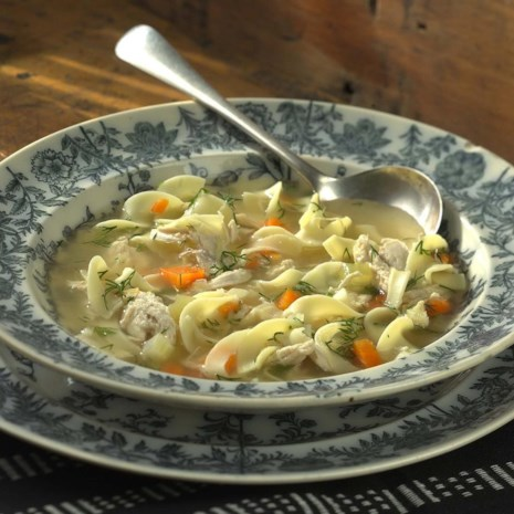 Chicken Noodle Soup with Dill