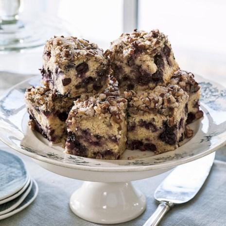 Pecan-Berry Coffee Cake