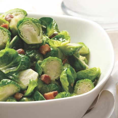 Brussels Sprouts with Chestnuts & Sage