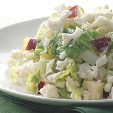 Creamy Chopped Cauliflower Salad