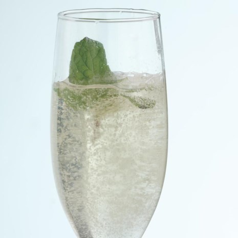 Elderflower Sparklers (Hyldeblomst Cocktails)