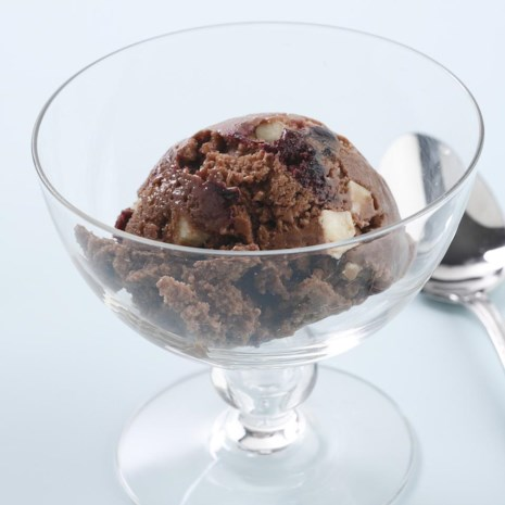 Cherry & White Chocolate Chunk Ice Cream