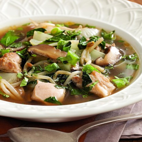 Asian-Inspired Chicken Soup