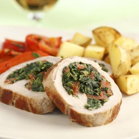 Chorizo-Stuffed Pork Tenderloin