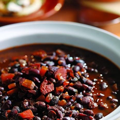 Bobby Flay's Honey-Rum Baked Black Beans