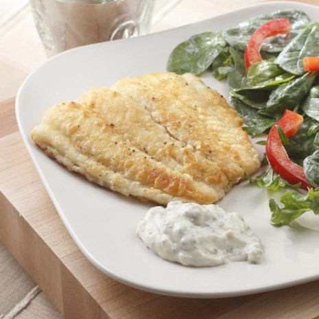 Fish Fillets with Tartar Sauce