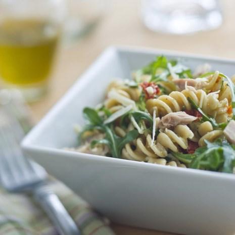 Vegetable & Tuna Pasta Salad