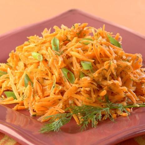 Lemony Carrot Salad