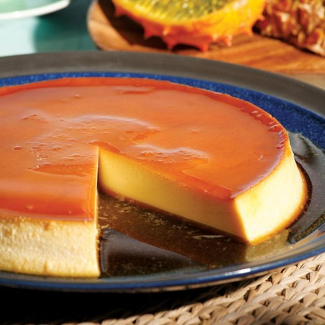Caramel Cream Cheese Custard (Flan de Queso)
