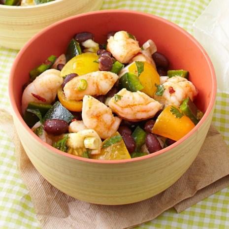 Zesty Shrimp & Black Bean Salad