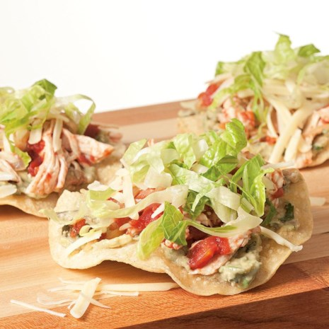 Crispy Turkey Tostadas