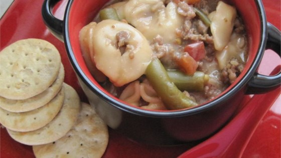 Quick Fix Tortellini Soup