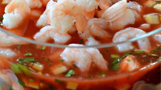 Tomato Shrimp Ceviche