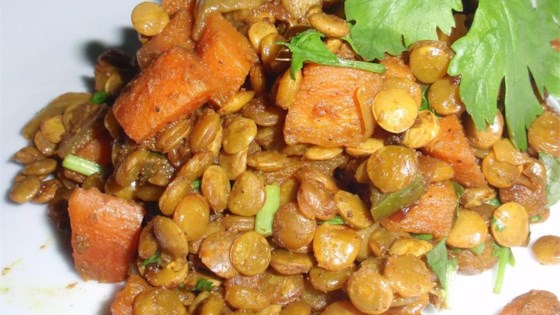 Caribbean Curried Peas (Lentils)