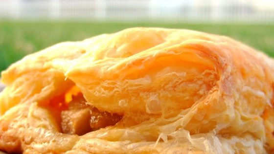 Pear and Blue Cheese Pastry Triangles