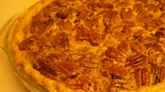2-Layer Rum Pecan Pie with Cheesecake