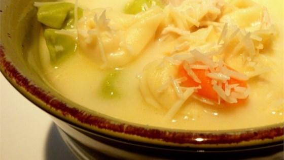 Quick Tortellini Soup