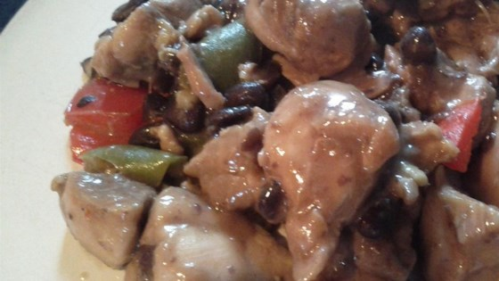 Chicken with Black Beans