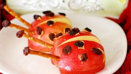 Apple Ladybug Treats