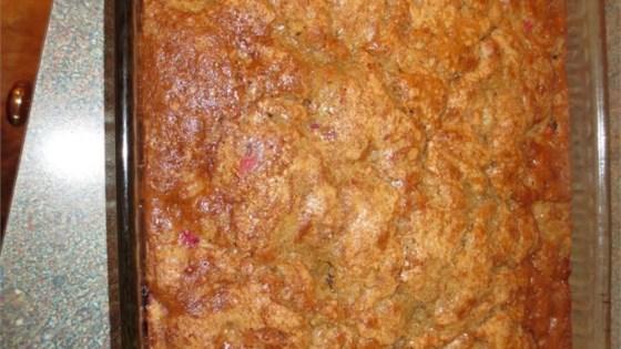 Rhubarb Cake III