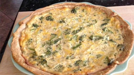 Tofu Quiche with Broccoli Recipe - Allrecipes.com