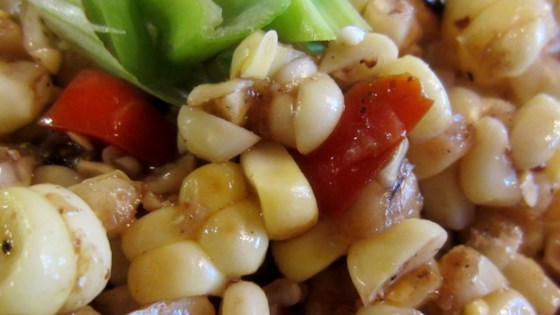 Grilled Corn Off the Cob Salad