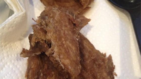Fried Tulingan (Mackerel)