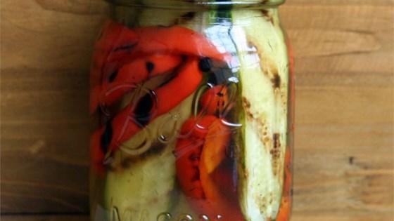 Pickled Grilled Vegetables