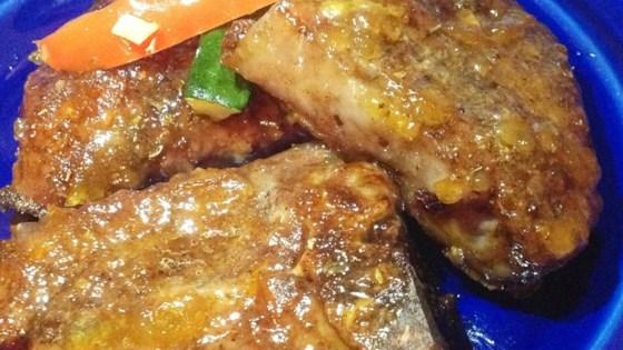 Lamb Chops in Duck Sauce